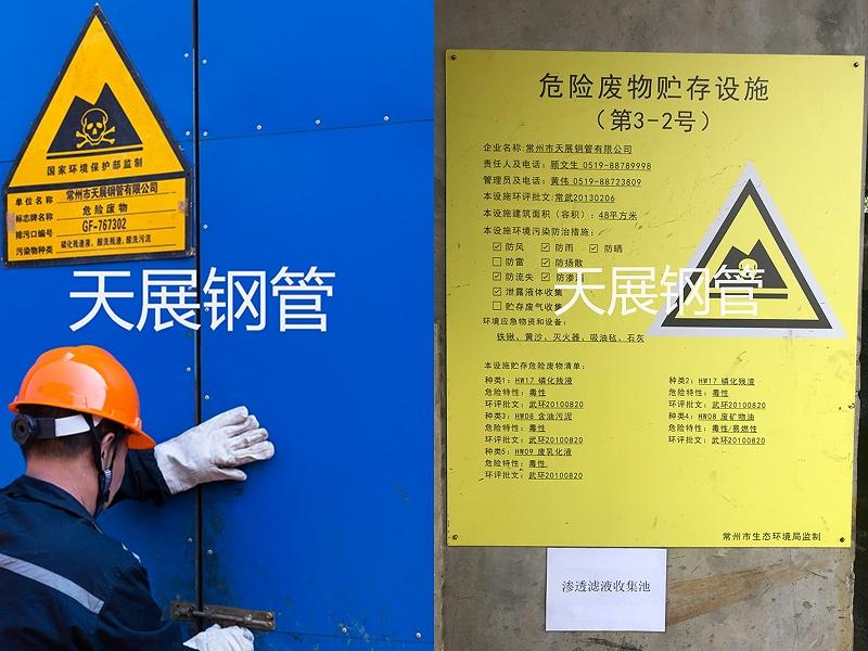 危废堆放警示牌及操作流程